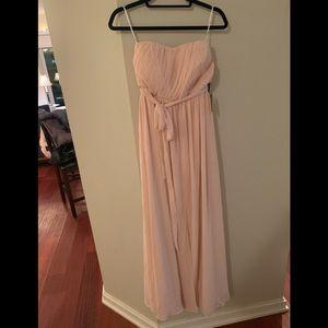 BRIDESMAID STRAPLESS MAXI DRESS FROM LULUS.COM